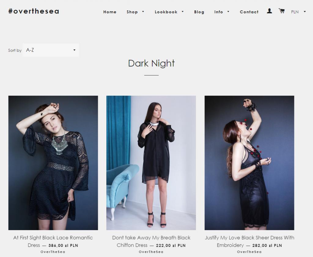 Start-up fashion – sukienki - overthesea-shop