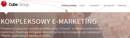 Yandex Metrica – przykładowa sesja użytkownika