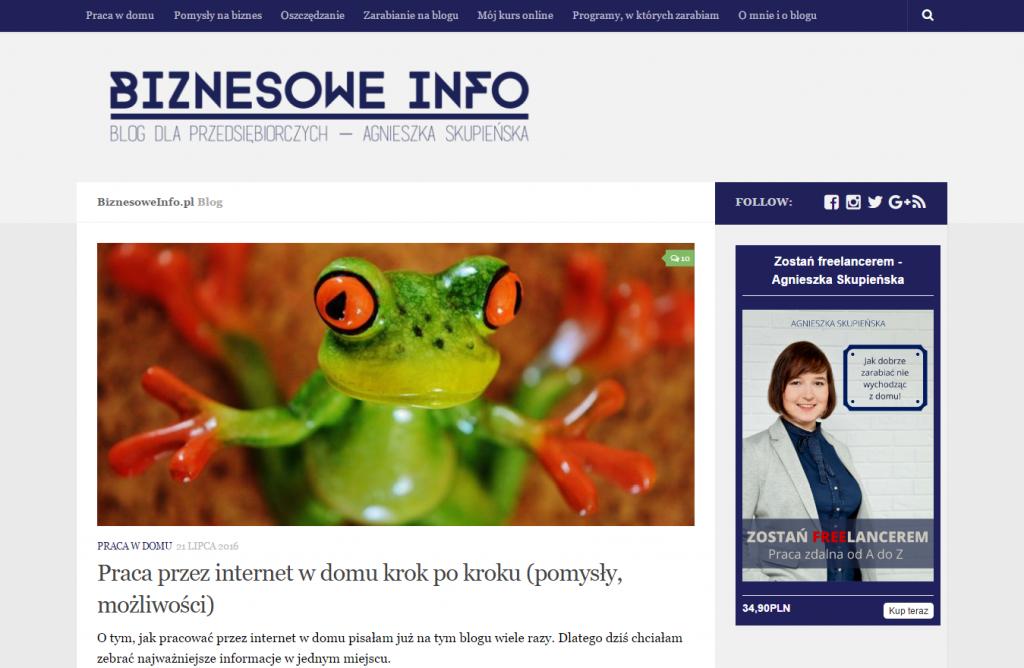 Blog Biznesowe Info