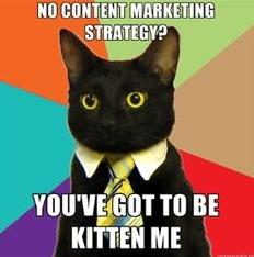 Content marketing - mem