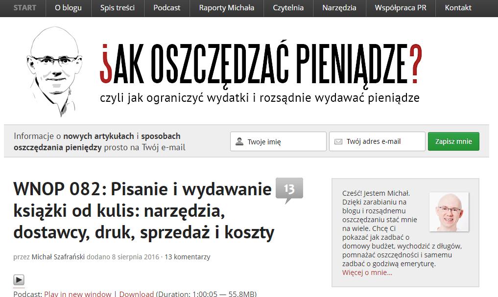 O czym pisać na blogu – jak oszczędzać pieniądze – performance360.pl