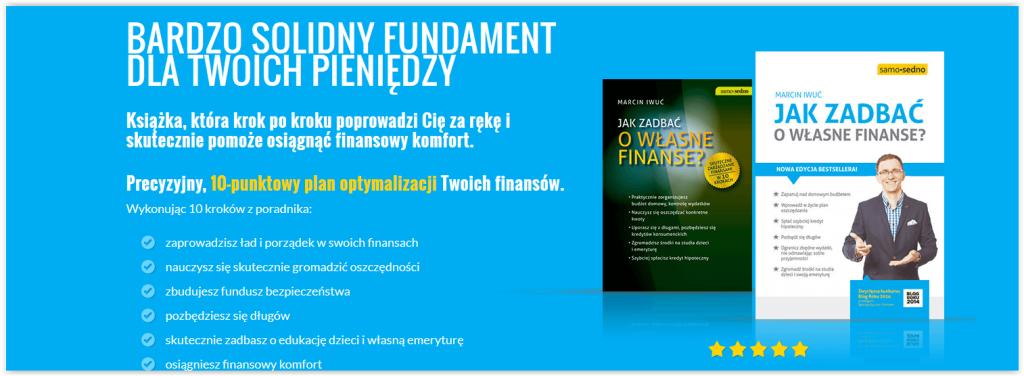 Blog o finansach - przykład