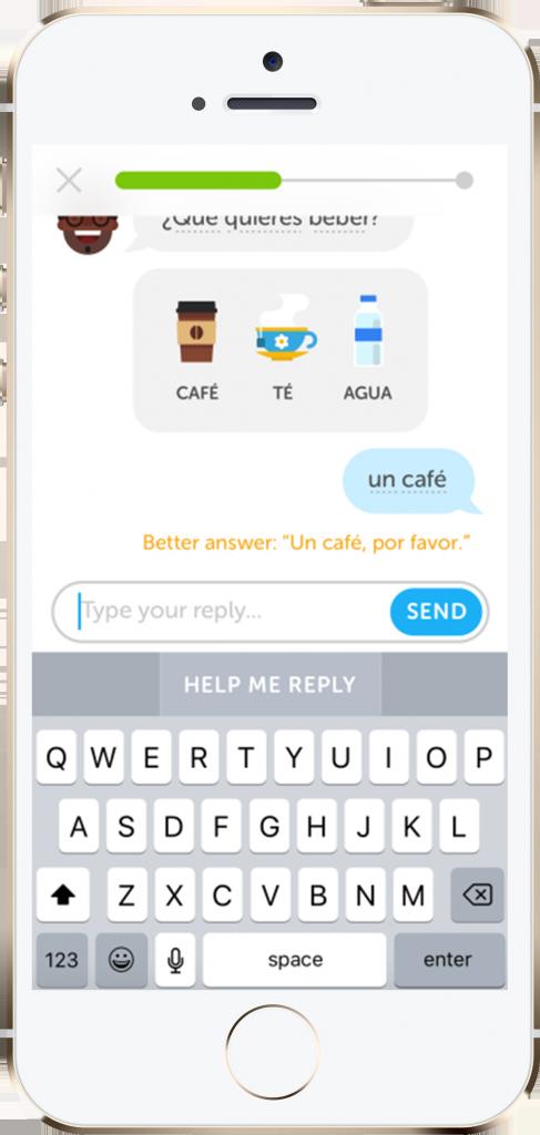 Przykład konwersacji z chatbotem – performance360.pl