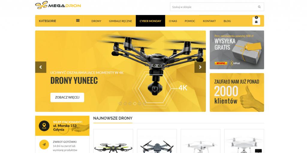 Sklep z dronami - Performance360.pl