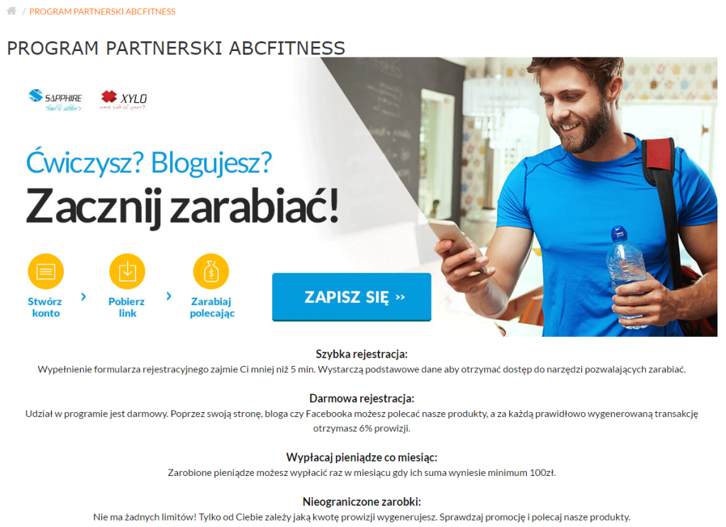 Przykład programu partnerskiego - Performance360.pl - wszystko o performance marketingu