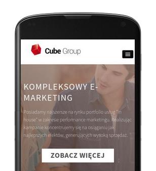 Strona responsywna - mobile