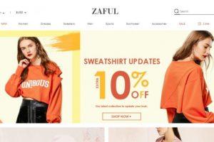 Sklep Zaful - polecanie produktów