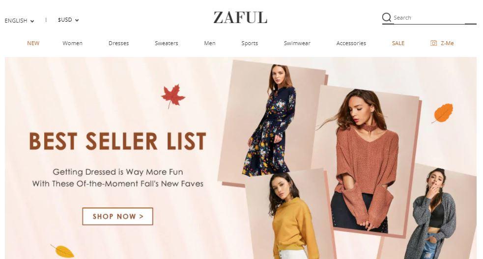 Sklep Zaful - współpraca