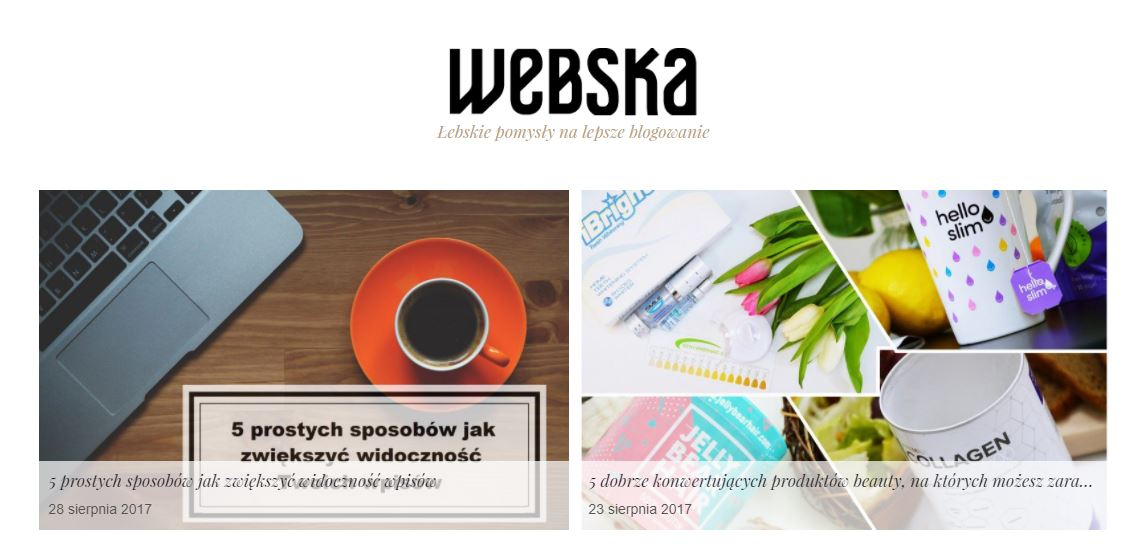 Webska - blog o zarabianiu na blogu